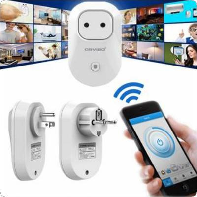 Wireless Remote Control Switch Timer Smart Power Socket EU / US Plug