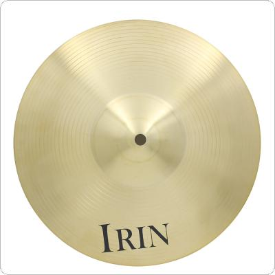 IRIN 12 Inch Brass Alloy Crash Ride Hi-Hat Cymbal for Drum Set