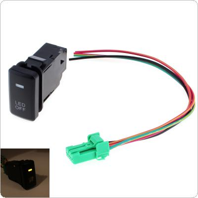Car Accessory Fog Light LED Lamp On Off Locking Switch for Toyota