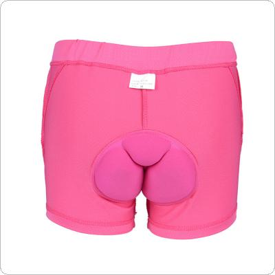 Women 3D Gel Padded Cycling Underwear Comfortable Bike Bicycle Ridding Shorts Pants