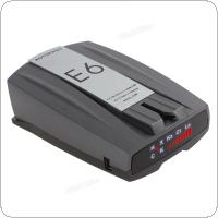 E6 Car Radar Detector English Version LED Display & Voice Warning GPS Navigator  for All Car