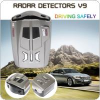V9 Russia / English Car 16 Brand LED Display X / K / NK / Ku / Ka / Laser Anti Radar Detector
