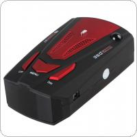 360 Degree Detection English & Russian Voice Alert V7 16 Band  Car Radar Detector for Car Speed Limited