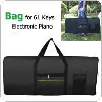 Waterproof Electronic Organ Oxford Fabric Portable Bag 100cm*40cm*16cm for 61 Keyboards Piano