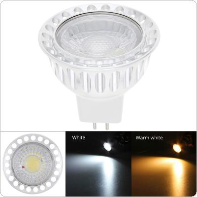 Dimmable MR16 720-800LM 3W 12V LED Spotlight  Light Bulb Warm White / White COB Lamp Downlight  for Home Lighting