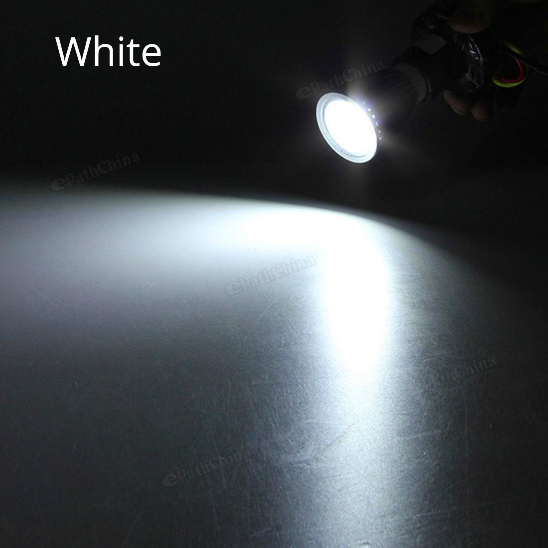 Dimmable MR16 720-800LM 6W 12V LED Light Bulb Warm White / White COB Spotlight Lamp Downlight