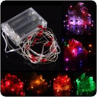 2M 20 LED Battery Powered Heart String Fairy Light For Christmas Party Wedding Decor