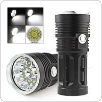 Waterproof Super Bright 3300LM 11 x XML-T6 LED Hunting Fishing Flash Light Torch
