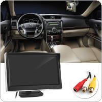 5 Inch TFT LCD Screen 480 x 272 HD Digital Color Car Rear View Monitor Support VCD / DVD / GPS / Camera