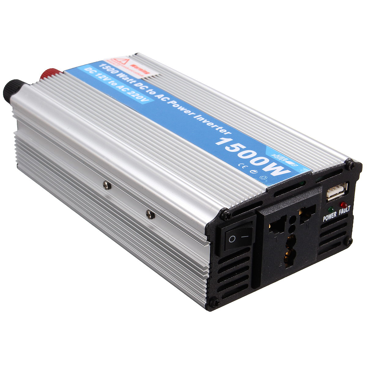#1A6DB1 INVERTER 1500W Car DC 12V To AC 220V Power Invertor  Best 4823 Inverter Window Ac photos with 1200x1200 px on helpvideos.info - Air Conditioners, Air Coolers and more