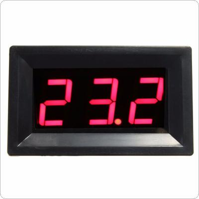 Red LED DC12V Digital Thermocouple Thermometer Temperature Meter 0~999 Celcius with Probe