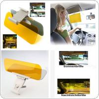 Car Auto Anti Glare Dazzling Goggle Day & Night Vision Mirror Shield Sun Visor