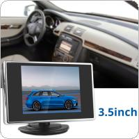 3.5 Inch 320 x 234 Pocket-sized Color TFT LCD Display Car Rear View Monitor with 2-Channel Video Input