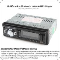 In-Dash 12V Car Audio Stereo FM Aux Input Receiver SD USB MP3 Radio Player + Remote Control