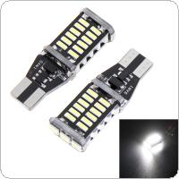 2 x T15 W16W 4014 30SMD LED Strong Bright Car Turn Signal Brake Stop Light 1200LM High Power