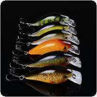 1Pcs 7.5cm 12.8g Crankbait Hard Bait Crank Fishing Artificial Lures Japan Wobbler Swim Bait