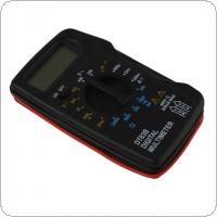 DT83B Digital Multimeter with Buzzer DC AC Ammeter Voltmeter Resistor Ohm Pocket