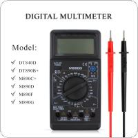 M890D Digital Multimeter AC/DC ohm Meter with Capacitance High Frequency Electricity Test For Transistor Tester Diagnostic Tool VEJ52 T50