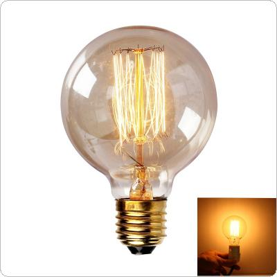 40W Big Promotion G80 Incandescent Bulb E27 Globe Retro Edison Vintage Lamp Light 110V-220V