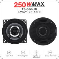 2pcs 4 Inch 10cm 150W Dual Cone Car Coaxial Horn Auto  Audio Music Stereo Full Range Frequency Hifi Speakers Non destructive Installation