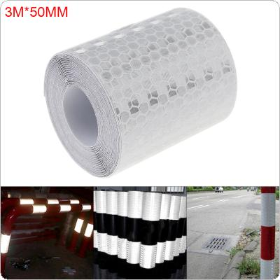 Car Decoration Motorcycle Reflective Tape Stickers Styling for Automobiles Safe Material Safety Warning Tape 5x300cm