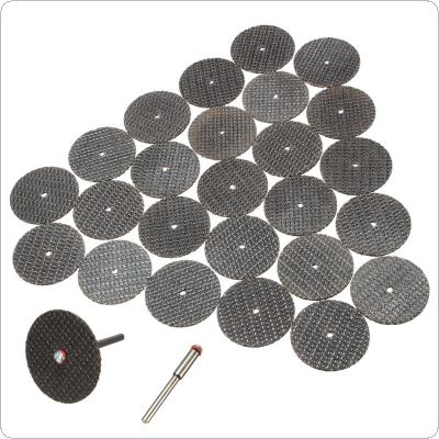 25pcs Metal Cutting Disc for Grinder Rotary Tool Circular Saw Blade Wheel Cutting Sanding Disc Tools Grinding Wheel