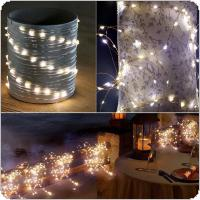 Origlam Waterproof 4M / 13.2ft 40 LEDs Flexible Copper Wire LED Starry String Lights Powered by AA Battery with 3 Modes for Party / Garden