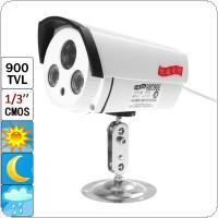 "900TVL 1/3"" CMOS Color Outdoor Security Waterproof CCTV Camera with IR-CUT"