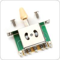5 Way Pickup Selector Switches for Electric Guitar Musical Instruments