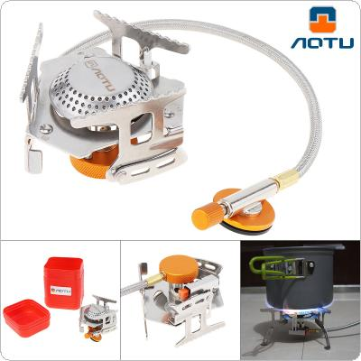 AOTU Outdoor Gas Burner Camping Gas Stoves In Box or Bag Portable Ultralight Split Stove