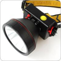 3000 Lumens Rechargeable Headband LED Light Headlight Headlamp Torch with Built-in Battery + Charger