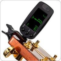 Meideal T83GW Practical Mini LCD Clip on Auto Tuner for Guitar / Bass / Violin
