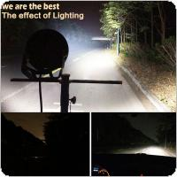 9 Inch Rounded 160W 32x LED Car Work Light Spot / Flood Light Vehicle Driving Lights for Offroad SUV / ATV / Truck / Boat