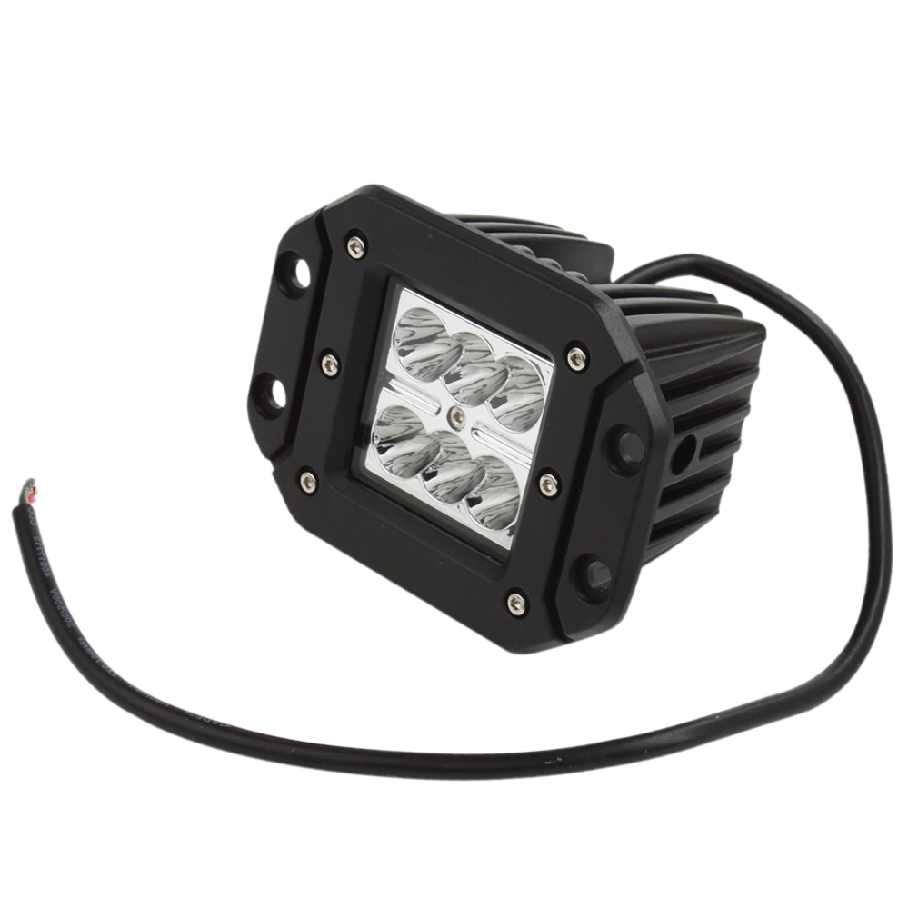 2x 18W 12V/24V 2000LM Waterproof LED Work Light Fit for Motorcycle / Tractor / Boat / 4WD Offroad / SUV / ATV