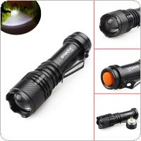 SKYWOLFEYE E502 800LM Q5 LED Light 3 Modes Flash Waterproof Torch Lamp Zoomable