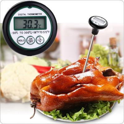 Digital LCD Food Probe Meat Instant Read Thermometer Cooking BBQ Kitchen Temperature Timer
