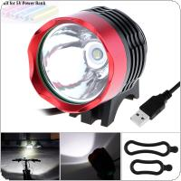 Bike Cycle CREE T6 LED Front Head Headlight USB Rechargeable Bicycle Light  Torch 3 Modes 800lm