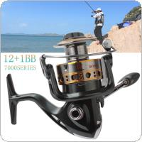 7000 Series 12+1 Ball Bearings 4.7:1 Spool Jigging Trolling Long Shot Casting Saltwater Surf Spinning Big Sea Fishing Reel