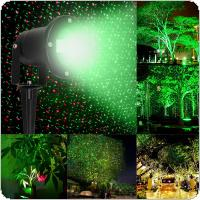 Waterproof Garden Tree Moving Laser Projector LED Stage Light Sparkling Landscape Lights for Outdoor Decorations
