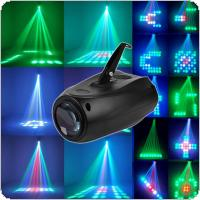 Portable Music Active LED Lights Laser Stage Effect Lighting Club Disco DJ Party Bar KTV