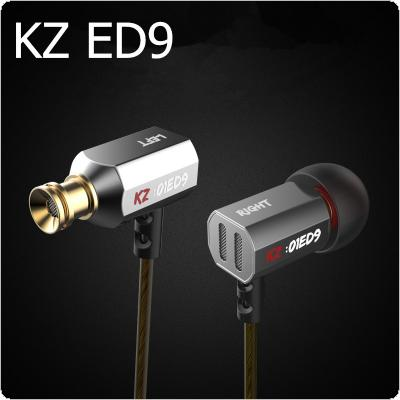 KZ ED9 Transparent Sound Earphone 3.5mm In-Ear Bass Stereo Earbuds Music Mini Headset for Phone
