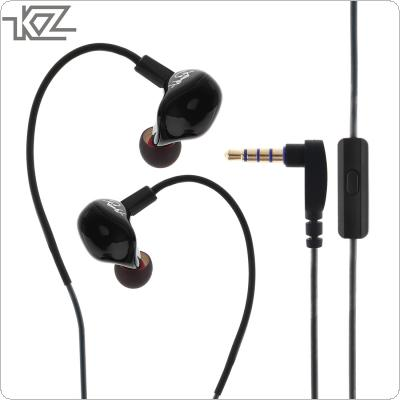 KZ ZS3 In Ear Earphone Stereo Running Sport Earphone Noise Cancelling HIFI Earphone with Microphone