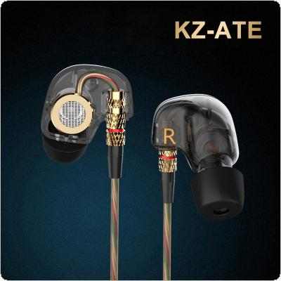 KZ ATE 3.5mm In-ear Earphones HIFI Metal Auriculares Super Bass Stereo Earbuds Music Mini Headset for Phone
