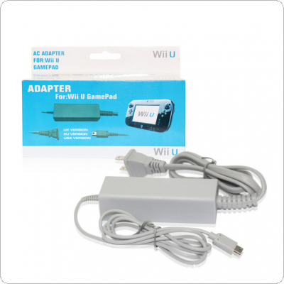 AC Supply US Plug Power Adapter Charger Cord Cable Fit for WiiU Controller