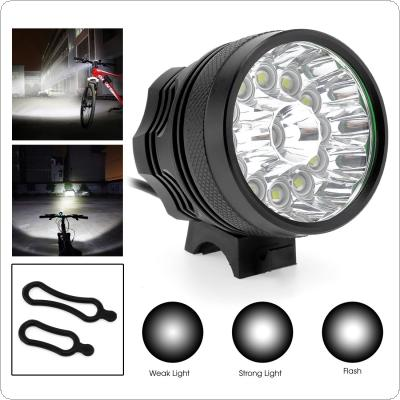 13 x XM-L T6 LED Bicycle Lamp Bike Light Headlight Cycling Torch 12000LM
