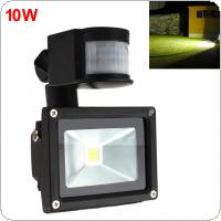 10W AC 85-265V PIR Infrared Body Motion Sensor LED Flood Light Waterproof Outdoor Landscape Lamp