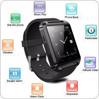 U8 Wireless Bluetooth Smart Watch Compatible with iPhone / with Samsung / with HTC / with LG / with Sony / with Lenovo / with Huawei / with Xiaomi