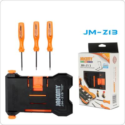 JAKEMY JM-Z13 4-in-1 Adjustable Fixed Screen Holder with Different Models Screwdrivers Suitable for Repairing 4.5~ 5.5 inch Phone Screen