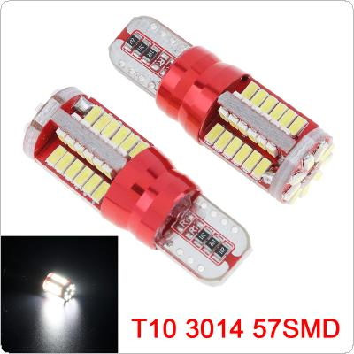 2pcs Canbus 5.7W W5W LED T15 T10 Light 57SMD 12V No Error Car LED Auto Light for Parking / Backup / Rear Lamp