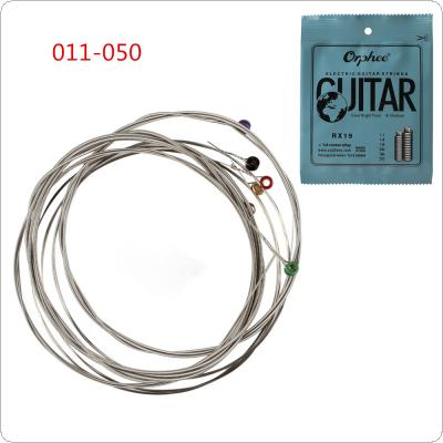 6pcs/set Electric Guitar String 011-050 Nickel Alloy Strings Guitar Parts Musical Instruments
